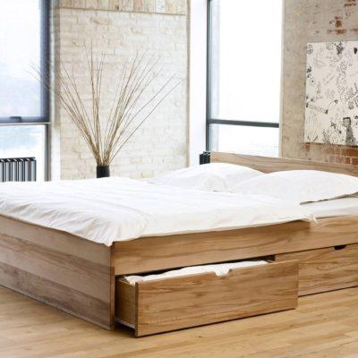 En sengeramme med opbevaring er et genialt møbel