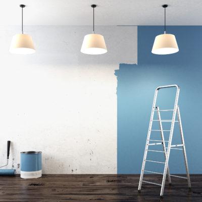 Få en ny stemning i dit hjem med nymalede vægge