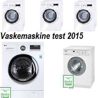 Vaskemaskine test 2016 – De bedste 5 vaskemaskiner